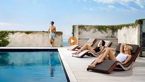 Outdoor Pool Furniture designer furniture for lounging outdoors u0026 in lujo u2013 lujo living