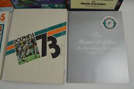 yearbook programs lot detail miami dolphins collection of 22 programs yearbooks