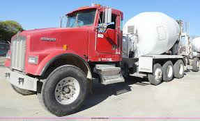 1996 kenworth w900b cement mixer truck item a3258 sold