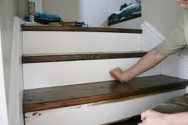 Cost To Decorate Hall Stairs And Landing Beautiful Budget Stair Remodel From Carpet To Wood Treads