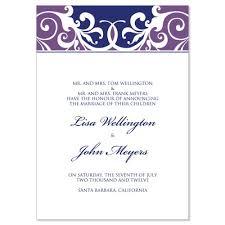 wedding announcement template purple blue wedding announcement templates jordana plum do it