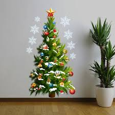 aliexpress com buy christmas tree wall sticker vinyl removable