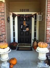 Door Decorations For Halloween The Best 35 Front Door Decors For This Year U0027s Halloween