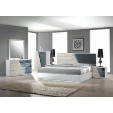 Modern Bedroom Sets - Contemporary platform bedroom sets
