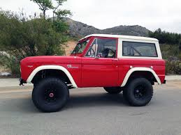 bronco car 2016 confirmation of new bronco stirs interest in vintage models ebay