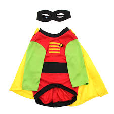 Bandit Halloween Costume Batman U0027s Robin Dog Halloween Costume Shipping