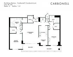 condominium plans carbonell brickell key floor plans