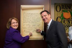 mayor jacobs joins orange county board leaders for
