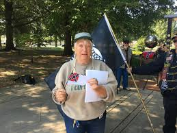 Black Guy With Confederate Flag Veterans In Paducah Protest City U0027s Confederate Flag Parade Ban