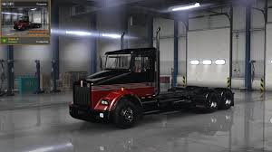 kenworth t800 truck kenworth t800 stripes v3 skin ats mods american truck simulator mods