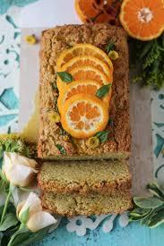 basil tangerine pound cake