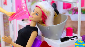 barbie baby dolls hair wash hair cut barbie doll hair style