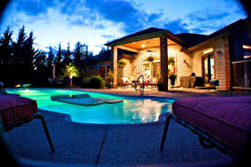 Infinity Pool Backyard by Backyard Landscaping Ideas Swimming Pool And Pools Picture