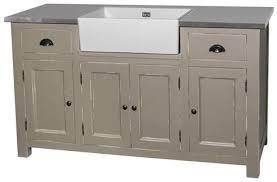 meuble cuisine zinc meuble cuisine bois et zinc 0 grand meuble evier de cuisine