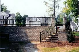 commercial ornamental aluminum fencing fortress fencing