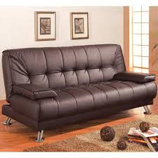 Convertible Sofa Beds Coaster Sofa Beds And Futons Faux Leather Convertible Sofa Bed