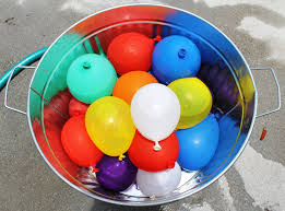water balloons should we attack the with water balloons