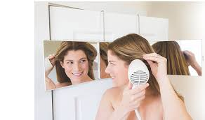 amazon com mirror to see the sides and back of your head for