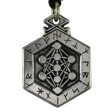 armanen runes talisman pendant kabbalah tree of norse jewelry