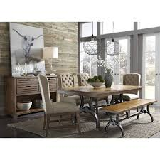 richmond dining room dining table u0026 4 side chairs 411t4274