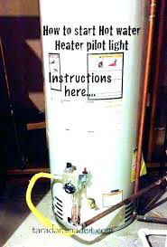 gas water heater pilot light but not burner water heater burner assembly winkie winkie
