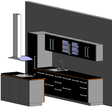 Kitchen Cabinet Textures Revit Kitchen Kitchen Set 06 3d Model Formfonts 3d Models Textures