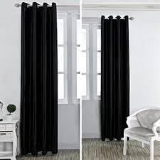 Schlafzimmer Gardinen Kinlo 1 Stück 145 175cm Vorhang Blackout Gardinen Blickdicht