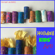 mini monets and mommies hanukkah menorah kids u0027 craft