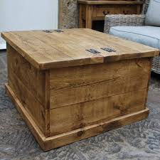 30 best collection of wooden trunks coffee tables