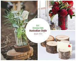 last minute diy christmas table decor ideas brisbane threads