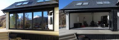 Aluminium Folding Patio Doors Ayrshire Agencies Aluminium Patio U0026 Bi Folding Doors Bespoke