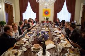 Seeking Dinner Rebooting The Passover Seder In The White House Reboot