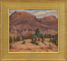 indian hrad woodstock ny u201d blanche lazzell 1917 oil on canvas