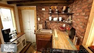faux kitchen backsplash impressive brick veneer kitchen backsplash faux tile ideas beautiful