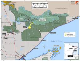 Boundary Waters Map Twin Metals Minnesota Property Interest Map Twin Metals