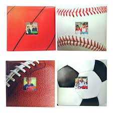 sports photo albums mcs industries inc scrapbook