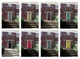Front Door Paint Colours Front Doors Kids Ideas Front Door Colors Brick House 13 Front