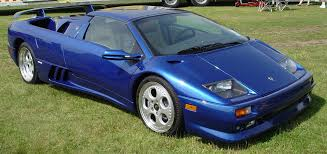 blue lamborghini diablo 1999 lamborghini diablo vt blue front angle