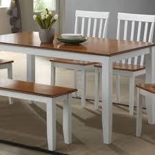 oak wood dining table wood dining room set dinettes dining room furniture 6pc kitchen set