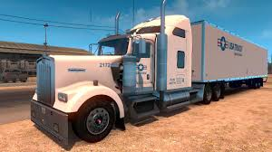 w900 dc usa truck w900 skin for ats v1 american truck simulator mods