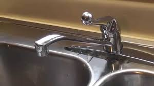leaky delta kitchen faucet dripping delta faucet repair using kit diy youtube