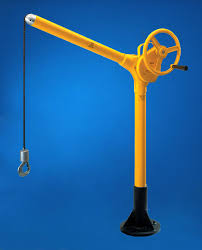 portable lifting device lifting parts system