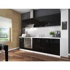 cuisine noir laqué cuisine complete noir laque cuisine complete avec colonne