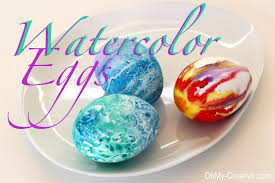 Easter Egg Decorating Funny by Watercolor Easter Egg Designs Oh My Creative