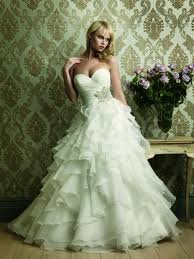 Green Wedding Dresses Strapless Wedding Gowns Sweetheat White Ivory Champagne Organza