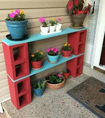16 best outdoor living images on pinterest cinder block bench