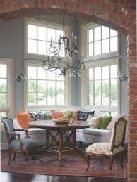 awesome zen dining room design with oak table and chairs gallery