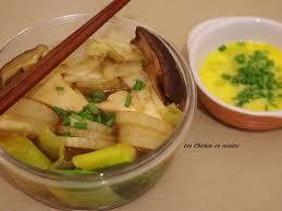 cuisiner radis blanc recettes de chou chinois et radis