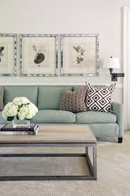 tobi fairley chic living room with botanical prints in silver