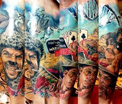 fear and loathing in las vegas tattoo by zsofia belteczky no 1112